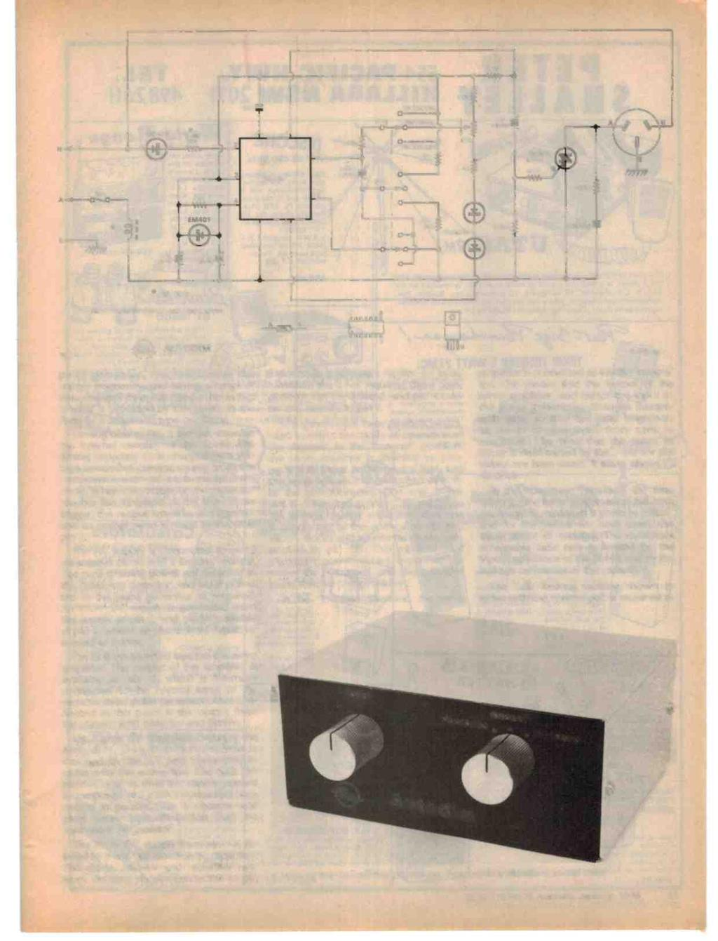 Australia ARTIFICIAL VISION SOON AUTOMATIC DIMMER