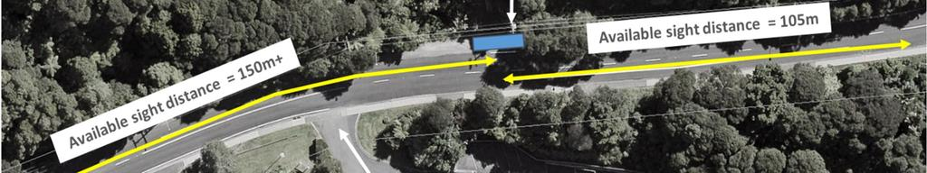 Manuka Road is a very low volume road environment. Vehicle swept path analysis for the WTP access is included in Appendix D.