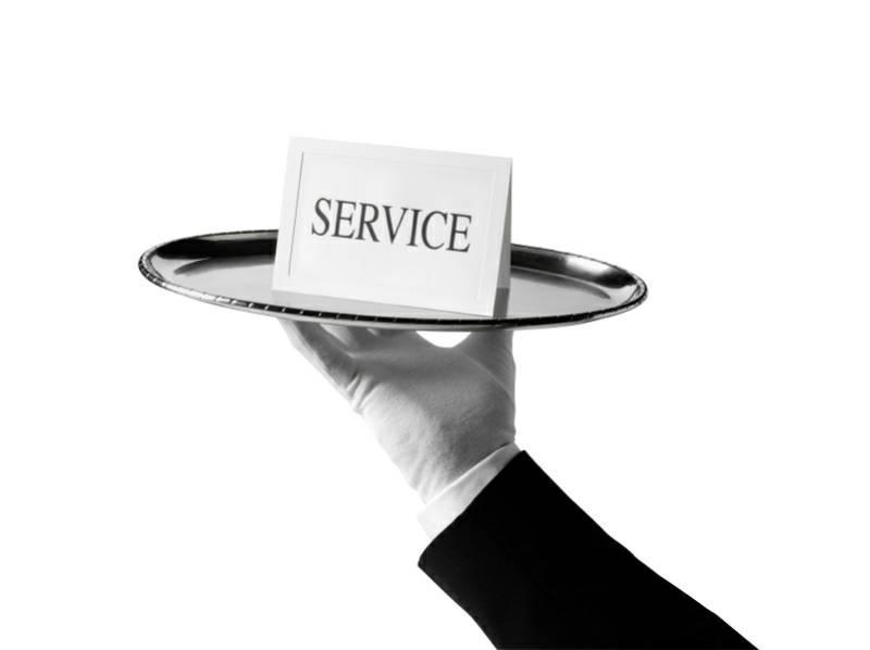 Service Standards (CIC) Typical 1 server for 20 guests VIP 1 server for 10 guests One