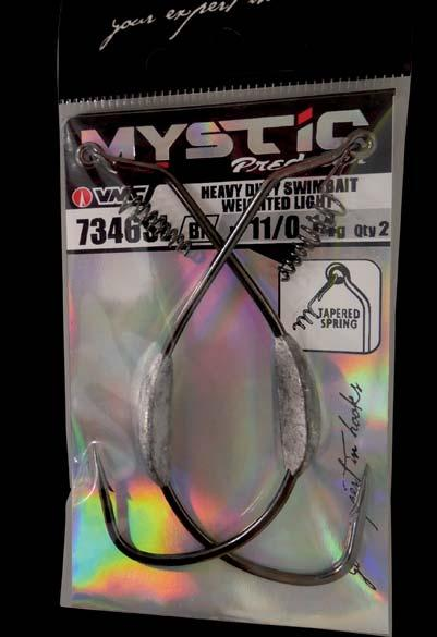 7346SL VMC Heavy Duty Swimbait Weighted Light 9//0 14g