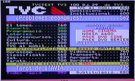 3.8 Teletext 1. If you want to watch teletext, please press Teletext on the remote control to enter into teletext page. 2.