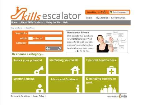 Skills Escalator to secure employment West London Whole Place Community Budget: Skills
