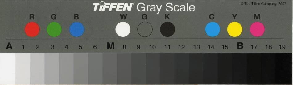 One of the most popular of these is the Kodak Q-13 (now made by Tiffen - Figure 3). Targets are also available for use during transmission scanning of positive or negative transparencies.