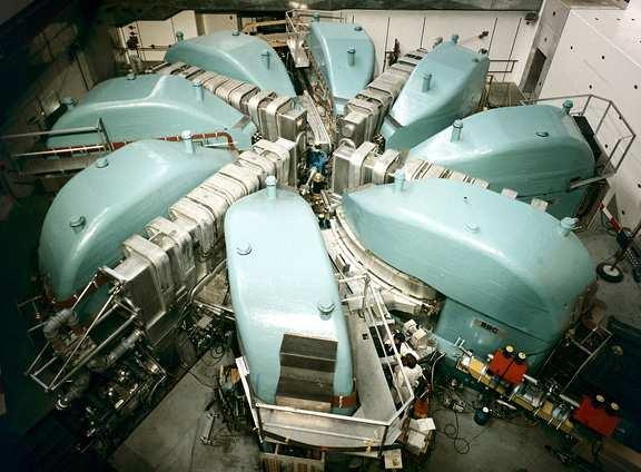The proton accelerator (Condensed Matter Research with