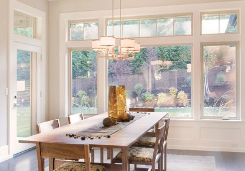 With double hung windows, which operate vertically, both sashes tilt in to make cleaning the outside
