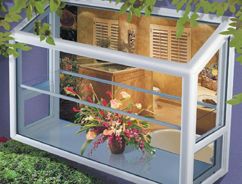 Double slider windows allow both sashes to operate left and right and make ideal kitchen pass-through