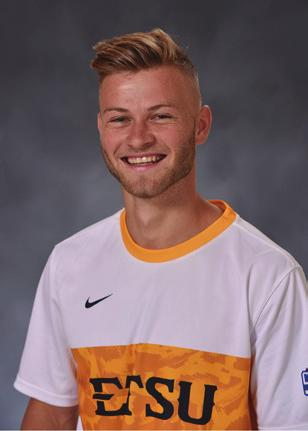 HAS SEEN EXTENDED TIME RECENTLY AT RIGHT BACK, LOGGING 56 AT UNCG LAST SATURDAY AND 45 VS. VMI TUESDAY. ONE OF TWO PLAYERS FROM JOHNSON CITY (JAVIER ALBERTO IS THE OTHER). #7 DANNY BARLOW - FR.