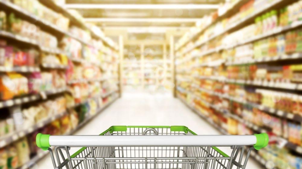 declining and grocery purchase