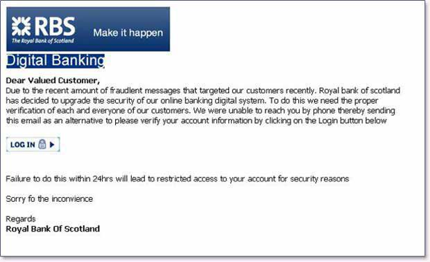 For more information on detecting spoofed emails claiming origin from U.S. Bank, click here. Scarcity: People tend to comply when they believe something is in short supply.
