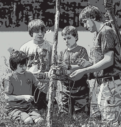 In Boy Scouting, advancement requirements must be passed as written. If, for example, a requirement uses words like show, demonstrate, or discuss, then that is what Scouts must do.