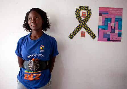 UNFPA to establish two youth centres to familiarize young people with HIV prevention, using a peer-topeer teaching approach.