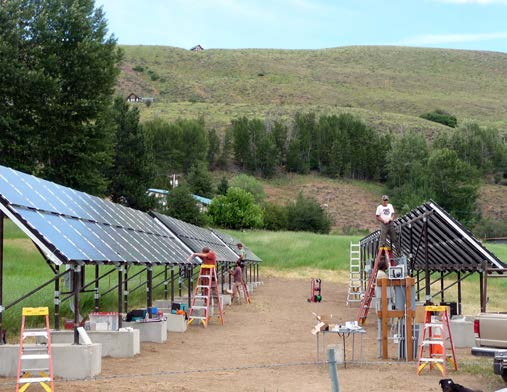 Winthrop Community Solar Project, Washington Following the 2010 launch of Okanogan County Electric Cooperative s (OCEC) first community shared solar project, coop members who had been unable to