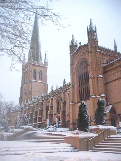 CASE STUDY WAKEFIELD CATHEDRAL 23 Diocese: Wakefield Context: Cathedral Growth: 20% increase in attendance over last five years Attendance at Wakefield Cathedral worship showed signs of growth from