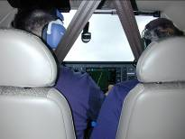 In-flight Decision-Making Perceive Obtaining In-flight Weather Information Many times, weather is not forecast to be severe enough to cancel the trip, so pilots often choose to take off and evaluate