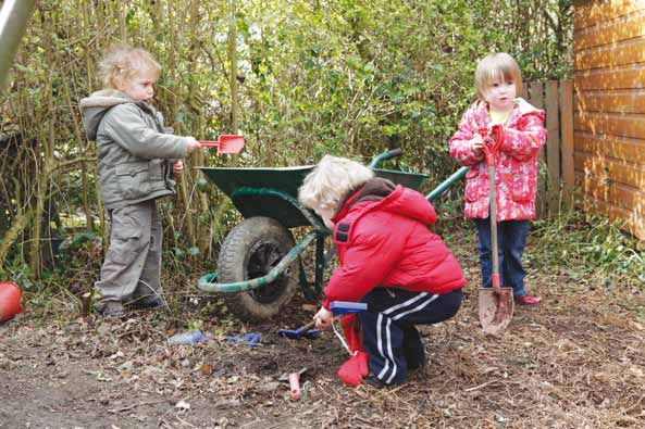 play 74 Playing Outdoors Increasingly, babies and children who attend early years settings are not only experiencing rich and stimulating play opportunities indoors, but outdoors too.