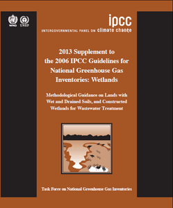 14 Understanding Land Use in the UNFCCC The IPCC has also developed the 2013 Supplement to the 2006 IPCC Guidelines for National Greenhouse Gas Inventories: Wetlands (Wetlands Supplement) 31