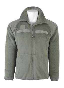 TM 10-8415-236-10 0002 DESCRIPTION OF MAJOR COMPONENTS (INSULATION LAYER(S)) - Cont Fleece Cold Weather Jacket: Insulation or Outer Shell Layer The Fleece Cold Weather Jacket (Figure 3) is foliage