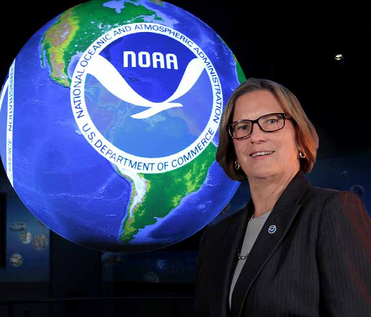 Kathryn Sullivan Under Secretary of Commerce for Oceans & Atmosphere and NOAA Administrator, Washington, DC, USA Maps. We use them to plan road trips. We use them in classrooms to teach geography.