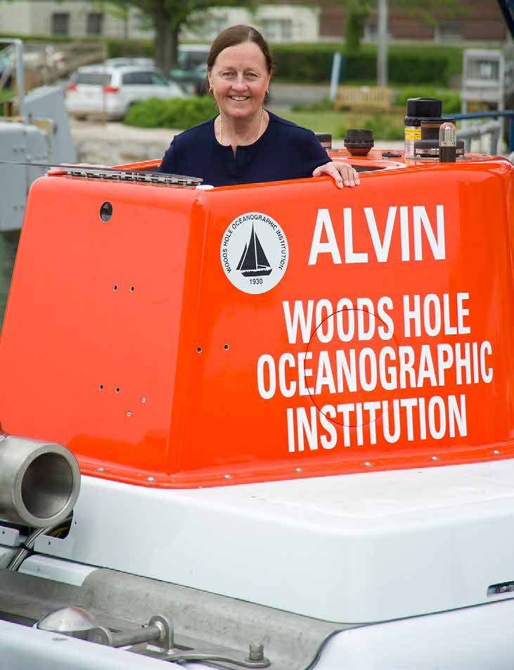 Susan E. Humphris Senior Scientist, Geology & Geophysics Department, Woods Hole Oceanographic Institution, Woods Hole, MA, USA, shumphris@whoi.