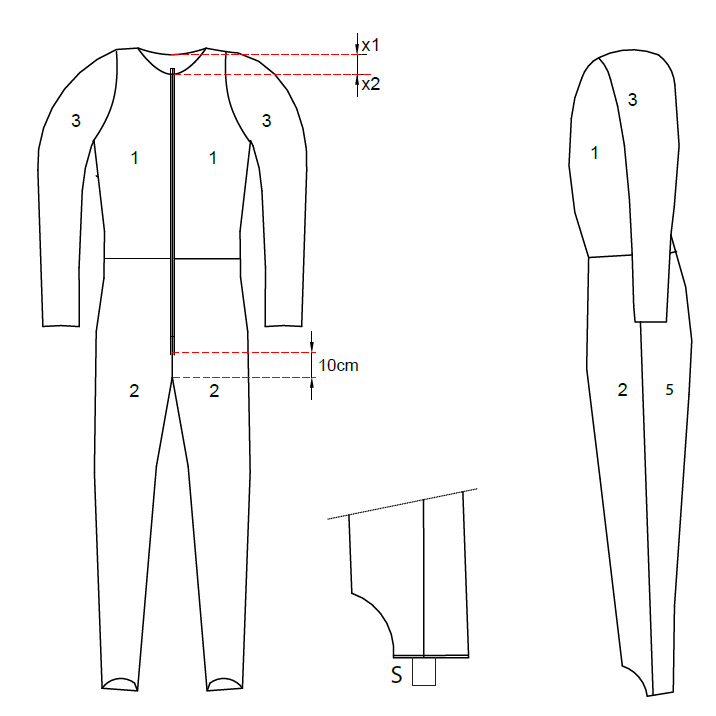 Ski Jumping Suits for Men Standardized