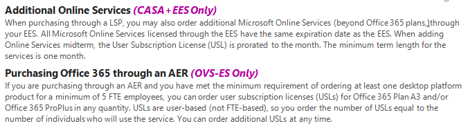 Introduction This guide can help you understand the Microsoft Volume Licensing Enrollment for Education Solutions (EES) subscription offering. It is provided for informational purposes only.
