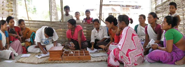 Community Banking Microfinance programs generally involve credit, savings, and related services for the less prosperous segments of society, depending on an outside lending agency and outside capital
