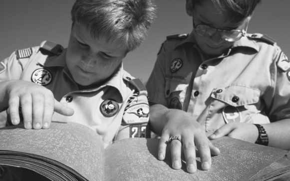 VI. Boy Scouting Program Many Scouts with disabilities may have difficulty completing the requirements to advance in Scouting.