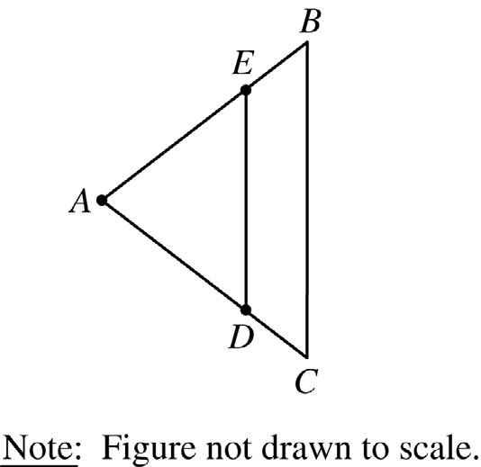 . If x = and y = in the figure above, what is the value of z? (A) (B) (C) (D) 9 (E).