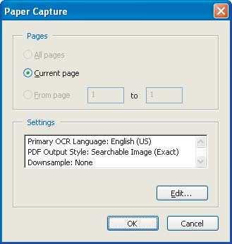Section Five: Creating Accessible PDF Documents from Scanned Documents 37 Using Paper Capture to create accessible PDF documents from scanned PDF documents Documents that you scan directly into Adobe