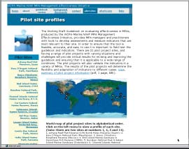 The website is divided in the following major categories: General information on the MPA MEI.
