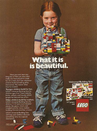 This is the old approach to LEGO toys.