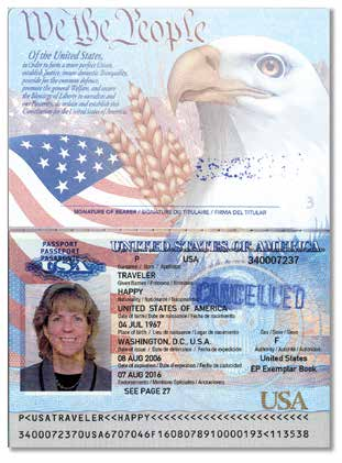 S. passport to U.S. citizens and noncitizen nationals.