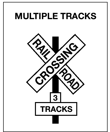 Railroad-highway grade crossings are a special kind of intersection where the roadway crosses train tracks. These crossings are always dangerous.