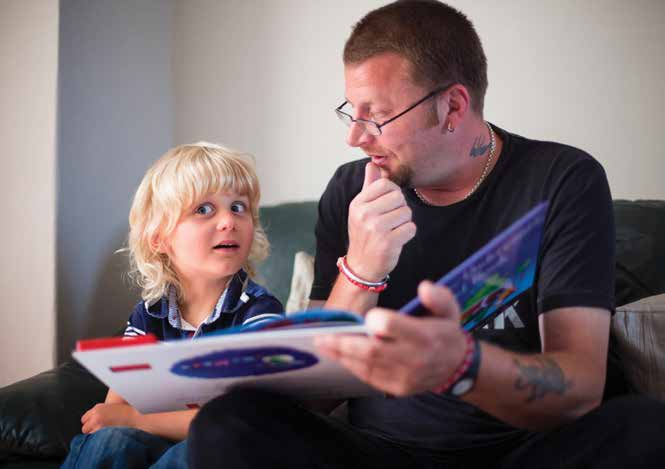 READ ON. GET ON. CAMPAIGN ACTIONS Reading: Parents, carers and anyone with a child in their life can make a huge difference by reading for just ten minutes a day.