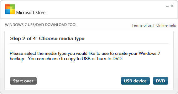 the file. 6. Click the Next button. 7. Click the USB device button: 8. Click the Next button. 9.