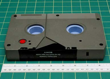 CASE TAPE VARIATIONS AND/OR IDENTIFYING FEATURES Full size cassettes are for use in recording and editing decks, and record up to 60 minutes.