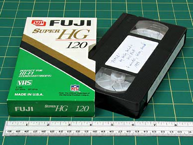 "TAPE CONTAINER The most common containers are hard plastic snap-closure boxes measuring 8"" x 4 11/16"" x 1 1/8"", but tapes can also be found in paperboard or plastic sleeves."