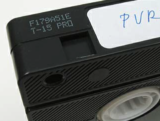 RISKS VHS tapes from the 1970s and 1980s are at great risk of signal loss due to problems with the physical material. See Risks.