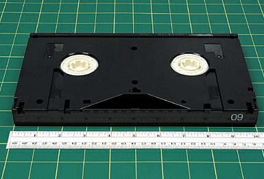 CASE TAPE VARIATIONS AND/OR IDENTIFYING FEATURES Tape cassettes are generally labeled in the upper right-hand corner as Betacam or BetacamSP.