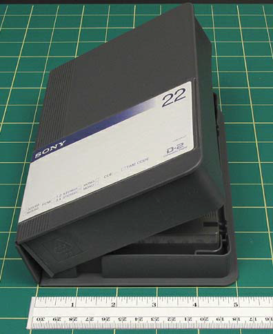 for medium cassettes and 7 3/4 x 5 1/16 x 1 9/16. Small box pictured.