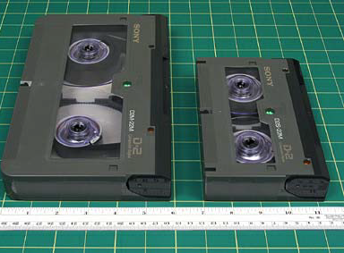 CONDITION ASSESSMENT Most D2 tapes can be played back for examination of picture and sound quality, however