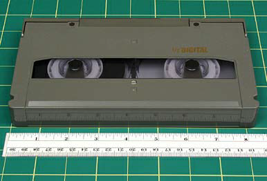 "D3 FORMAT NAME D3 ANALOG OR DIGITAL Digital DATE INTRODUCED 1990 DATES IN USE 1990 to present TAPE WIDTH 1/2 TOP CASSETTE DIMENSIONS 8 1/4 x 4 7/8"" x 15/16""."