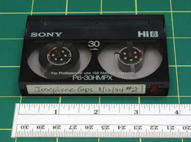 "Digital 8 FORMAT NAME Digital 8 ANALOG OR DIGITAL Digital DATE INTRODUCED 1999 DATES IN USE 1999 to present TAPE WIDTH 5/16 8mm TOP CASSETTE DIMENSIONS 3 11/16"" x 2 3/8"" x 9/16""."