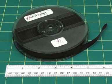 "Larger reels will be in containers approximately 8 3/8"" x 8 3/8"" x 1 1/4"". The plastic container may also be inside of a separate paperboard sleeve."