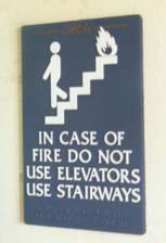 Are There Devices to Help People with Mobility Impairments Evacuate? Can the Elevators Be Used?