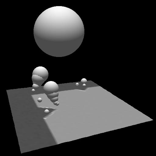 22 Lindeberg Figure 11: Three-dimensional view of scale-space maxima of κ 2 norm computed for a large scale corner with superimposed corner structures at finer scales.