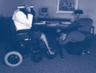 Personal Disaster Preparation If you are in a wheelchair when the earthquake begins, lock your wheels. What You Can Do to Prepare for a Disaster Identify safe places to go to during a disaster.