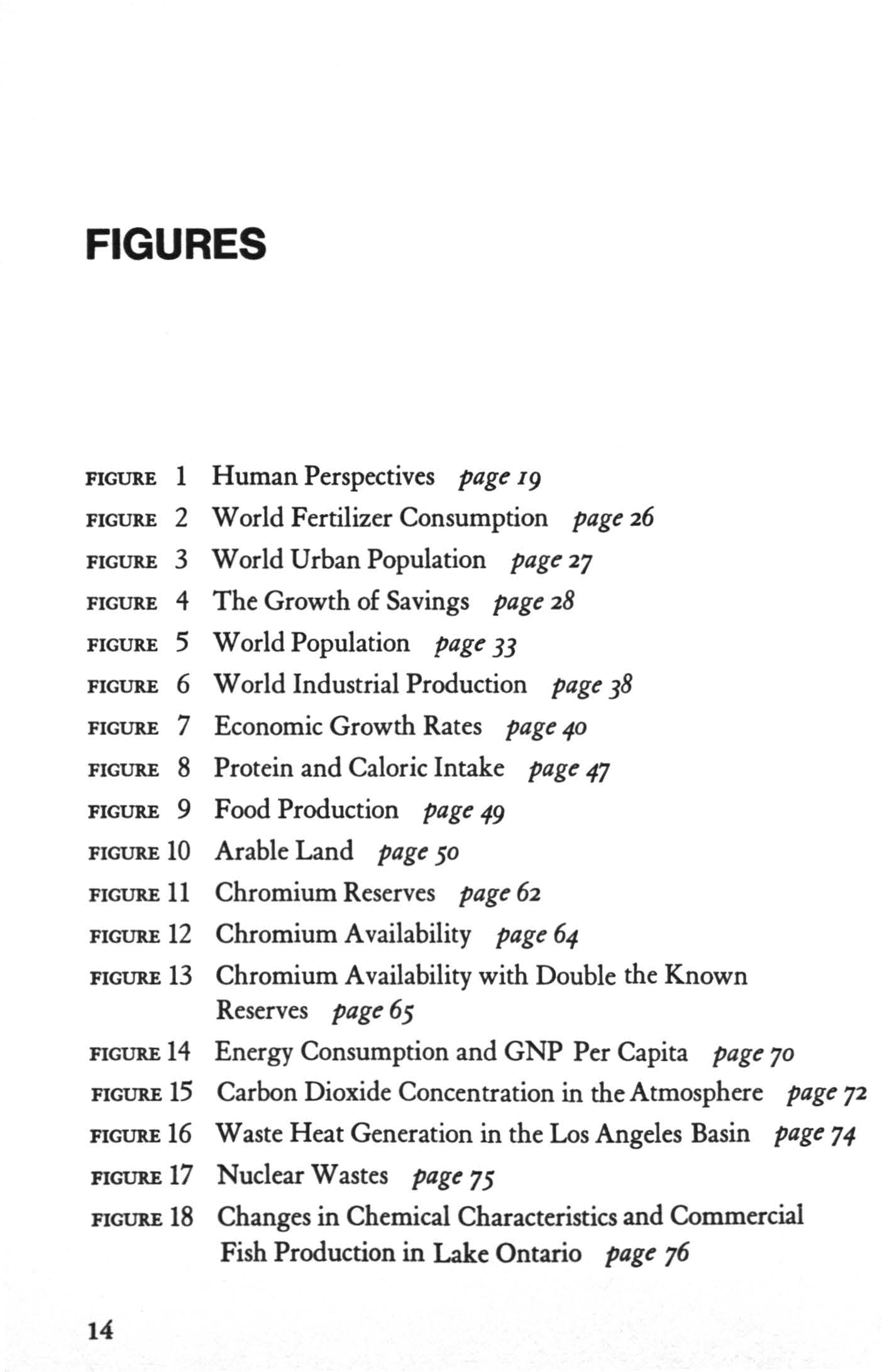 FGURES FGURE 1 FGURE 2 FGURE 3 FGURE 4 FGURE 5 FGURE 6 FGURE 7 FGURE 8 FGURE 9 FGURE 10 FGURE 11 FGURE 12 FGURE 13 Human Perspectives 9 World Fertilizer Consumption page 26 World Urban Population 27