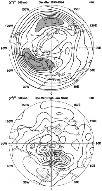 DECADAL VARIATIONS IN CLIMATE ASSOCIATED WITH NORTH ATLANTIC OSCILLATION 315 Figure 10.