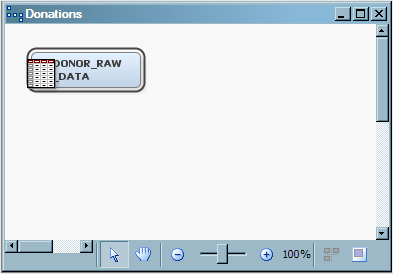 To create a process flow diagram and add the first node: 1. On the File menu, select New ð Diagram. 2.